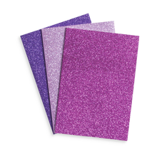 Load image into Gallery viewer, Glamtastic Glitter Notebooks: Set of 3