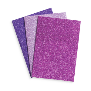 Glamtastic Glitter Notebooks: Set of 3