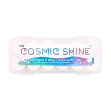 Load image into Gallery viewer, Cosmic Shine Glitter & Pearlescent Acrylic Craft Paints