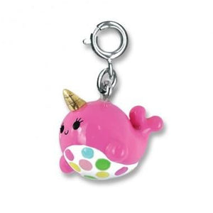 CHARM IT! Pink Narwhal Charm