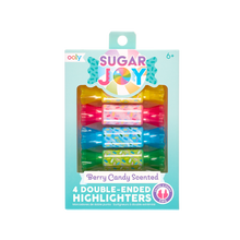 Load image into Gallery viewer, Sugar Joy Scented Double-Ended Highlighters