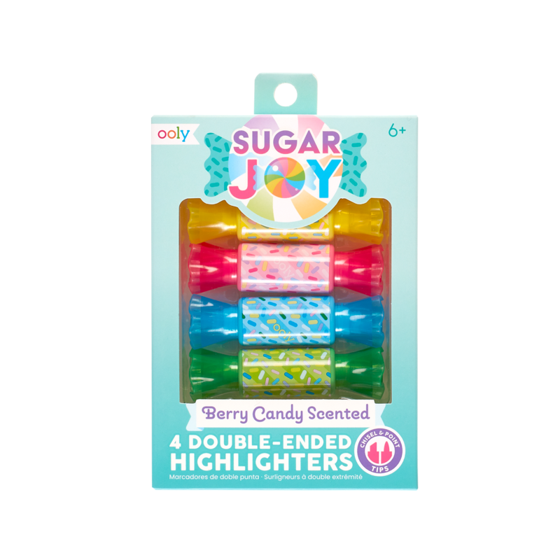 Sugar Joy Scented Double-Ended Highlighters