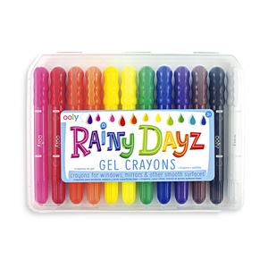 Rainy Dayz Gel Crayons - set of 12