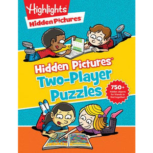Highlights Hidden Pictures Two-Player Puzzles