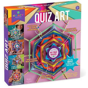 Craft-tastic All About Me Quiz
