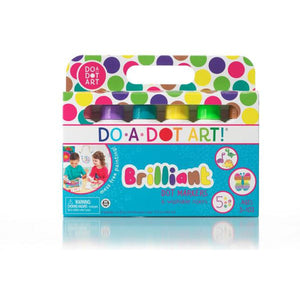 Brilliant 6 Pack Dot Markers