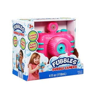 Fubbles Bubble Camera