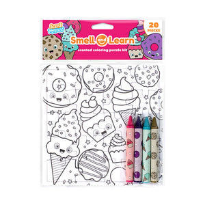 Smell and Learn Coloring Puzzle