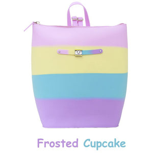 Yummy Frosted Cupcake Zipper Bucket Bag