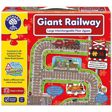 Load image into Gallery viewer, Giant Railway Puzzle