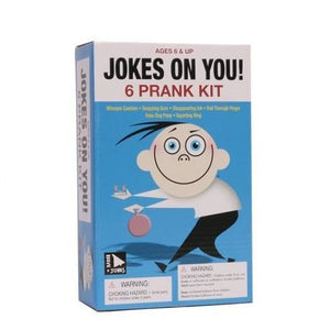 Jokes On You Pranks- 6 Piece set