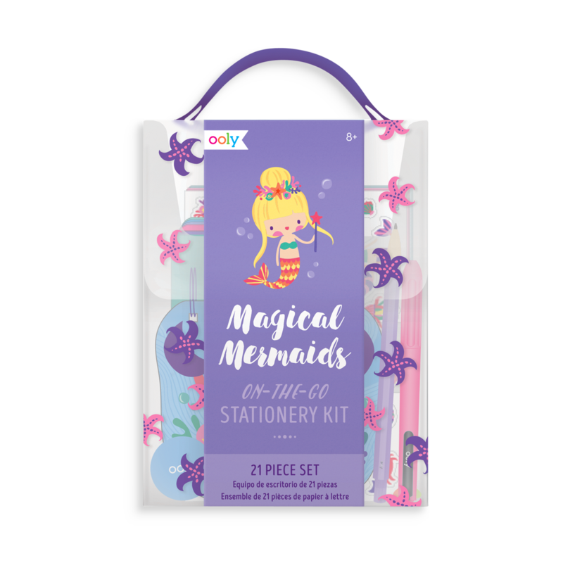 Magical Mermaids Stationery Kit