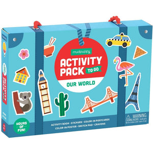 Activity Pack To Go-Our World