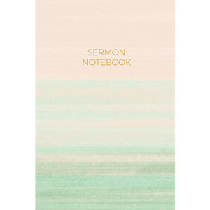 6 Month Sermon Notebook