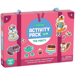 Activity Pack To Go-Tea Party