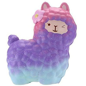 Alpaca Galaxy Squishy
