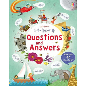 Questions and Answers Lift-the-Flap Books