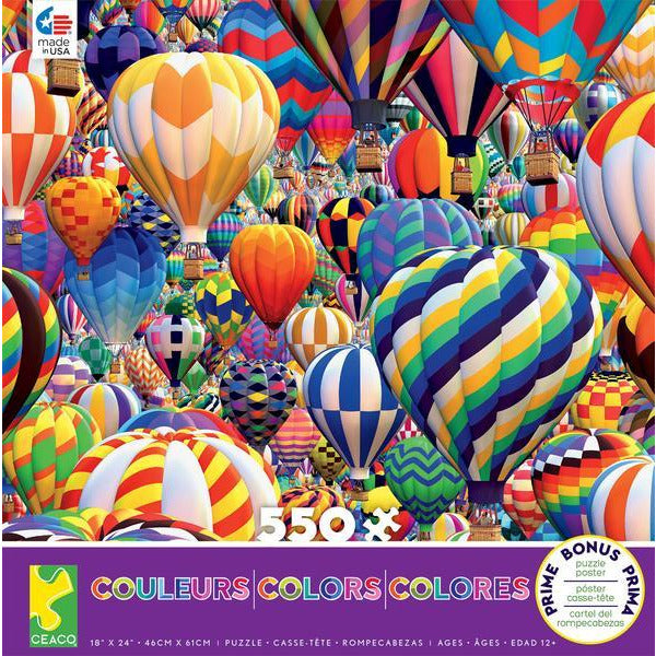 Balloon World Puzzle - 550 pcs