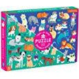 100 Piece Double-Sided Puzzle