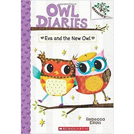 Owl Diaries #4 Eva and the New Owl