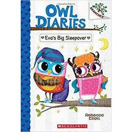 Owl Diaries #9 Eva's Big Sleepover