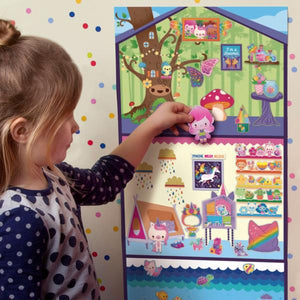 Jr. Enchanted Wall Sticker Play