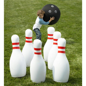 Indoor/Outdoor Inflatable Bowling Set