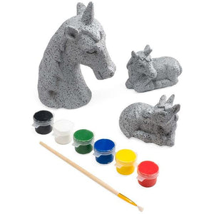 Color Pops Paint Your Own Rock- Unicorn Set