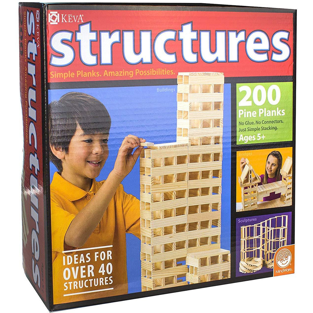 KEVA Structures - 200 pieces