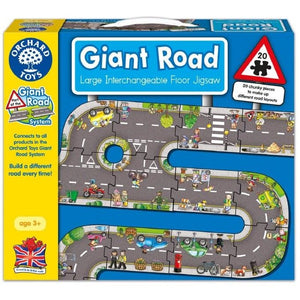 Giant Road Puzzle