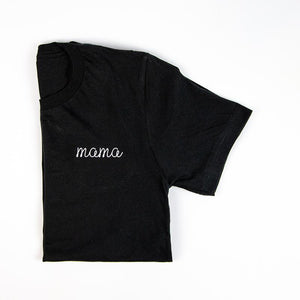 Mama Embroidered Tees