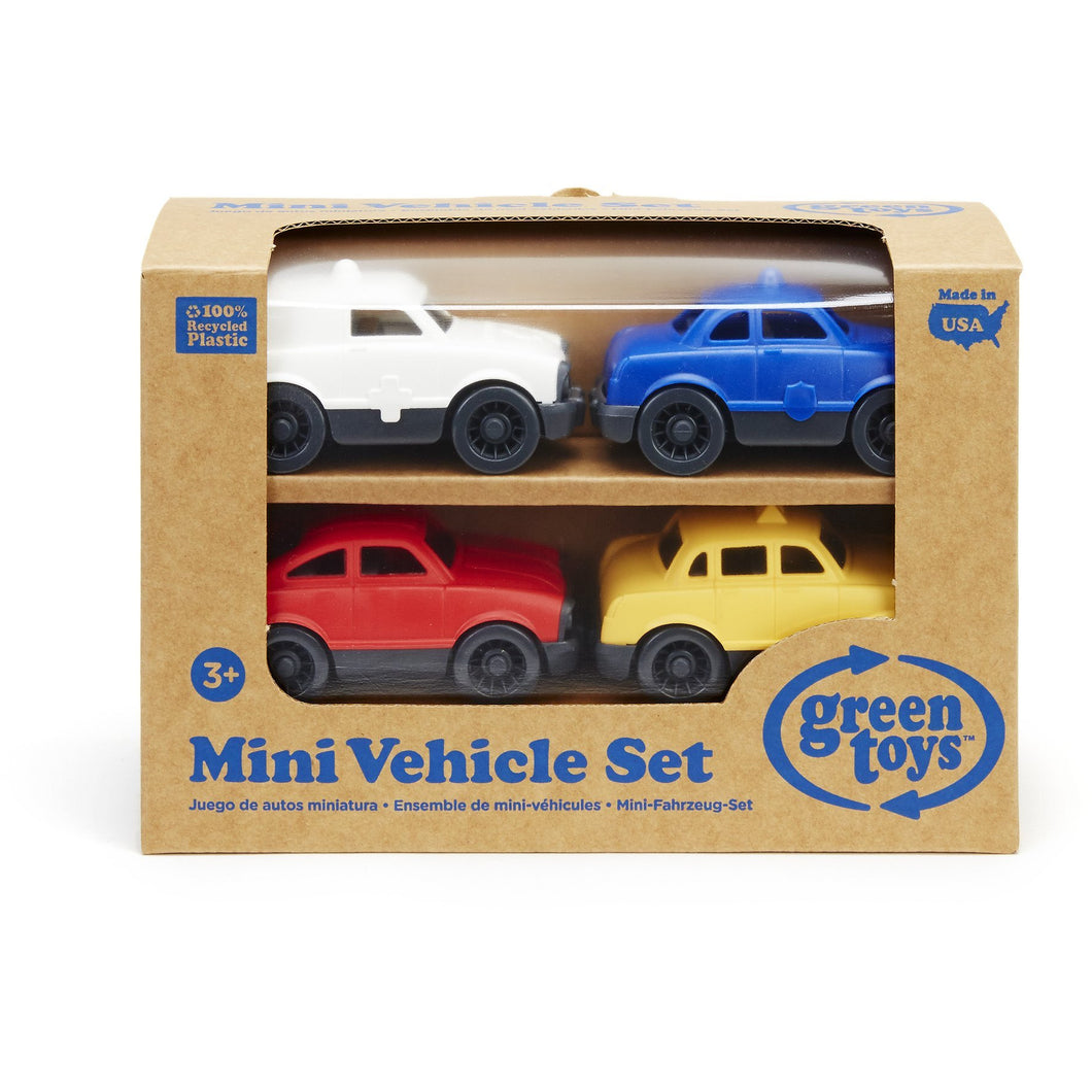 Mini Vehicles 4-Pack