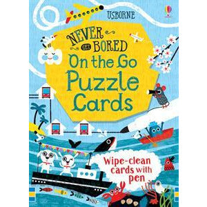 Wipe Clean Never Get Bored on the Go Puzzle Cards