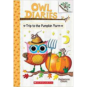 Owl Diaries #11 Trip to the Pumpkin Farm
