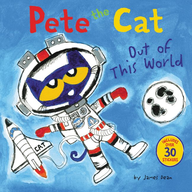 Pete the Cat Out of This World