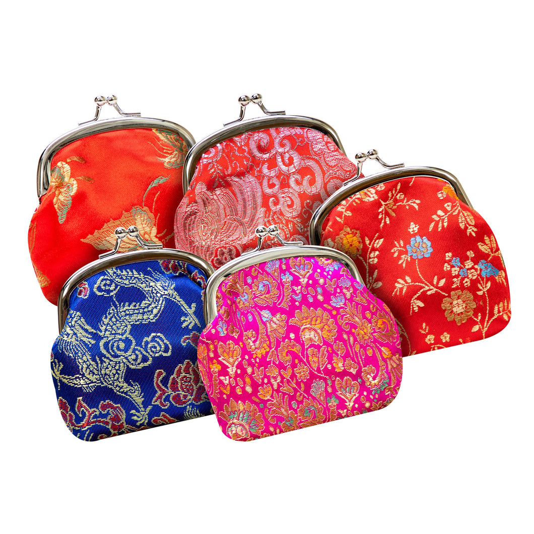 Silk Design Coin Purses