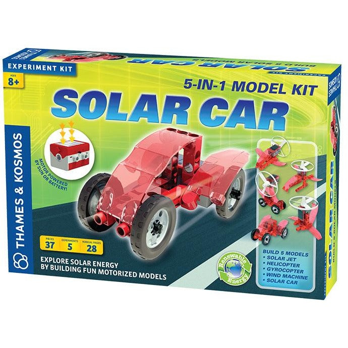 Solar Car 5-in-1 Model Kit