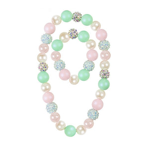 Sorbet Sparkle Necklace Set