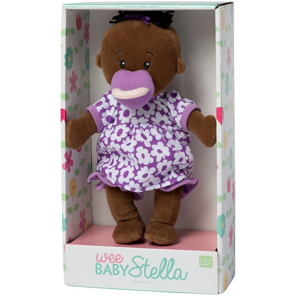 Wee Baby Stella Doll (Purple Dress)