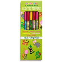 Load image into Gallery viewer, Scented Toppers - Pencils (5 count)