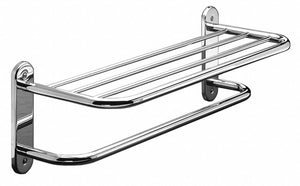 Towel Shelf With Bar