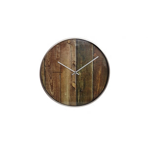 Planks Wall Clock