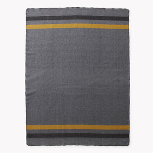 Military grey wool blanket