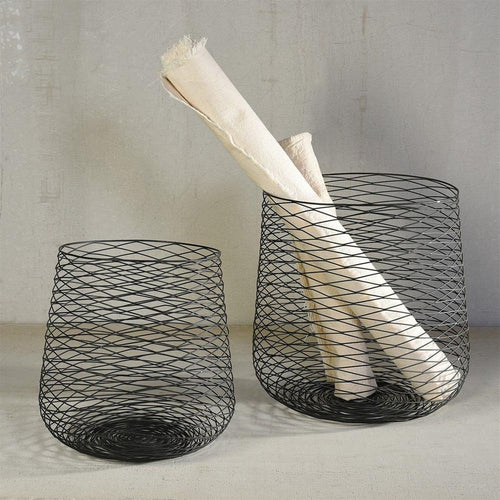 Claus Wire Baskets Set/2