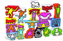 Keith Haring Stacking Figures
