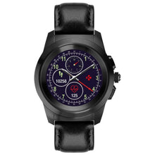 Zetime Leather Premium Black Watch