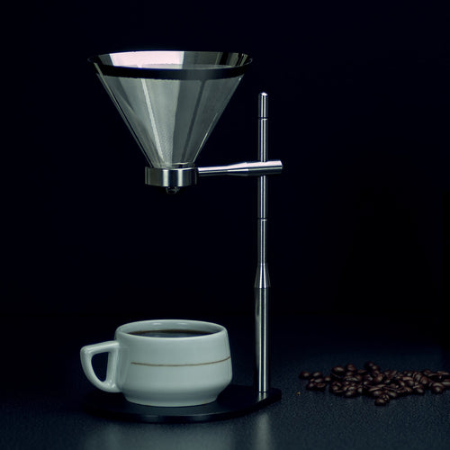 Minimal Coffee Stand w/ Stainless Steel Filter