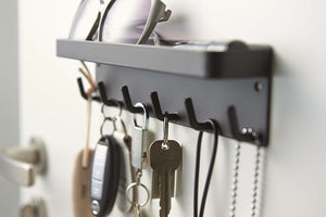 Magnetic Key Rack w/ Tray