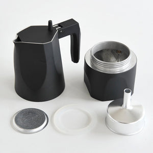 Black Ossidiana Espresso Coffee Maker