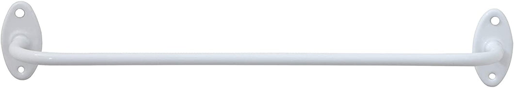 White Enameled Rod
